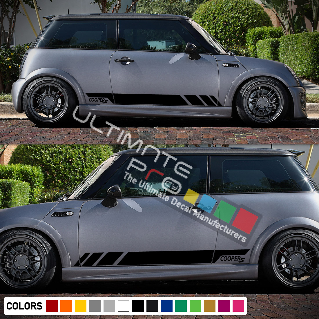 Sport Side Stripes Decal Sticker Vinyl Compatible With