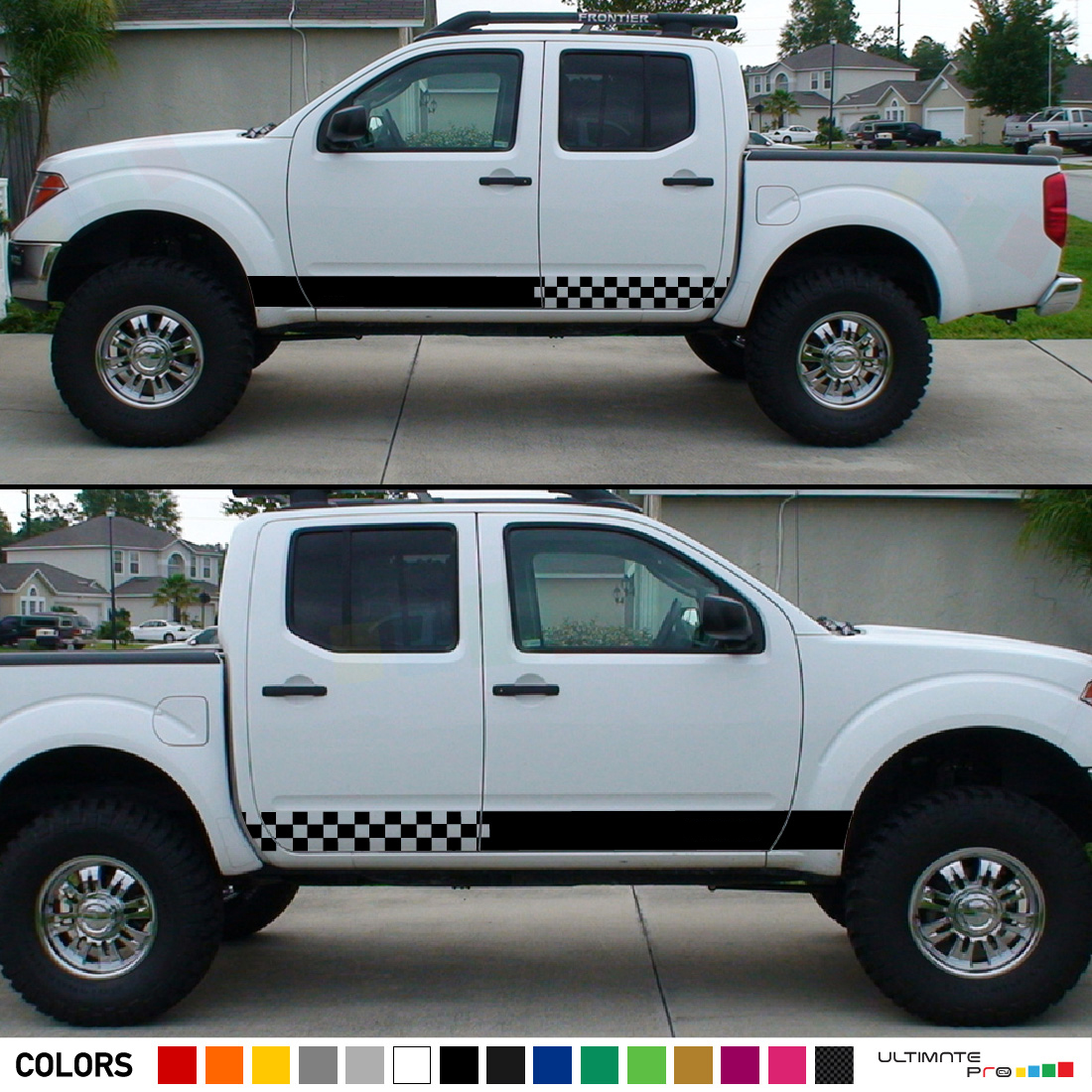 2 X Nissan Navara Side Nismo 4x4 Off Road Decals Stickers Vehicle Parts Accessories Car Tuning Styling