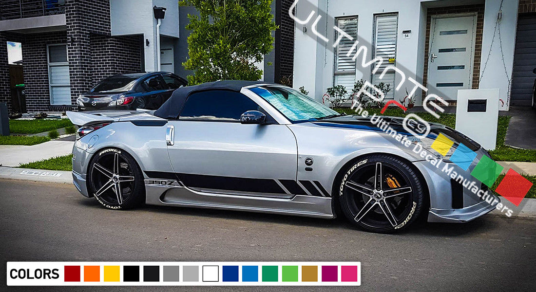 Decal Sticker Vinyl Side Racing Stripes Compatible with ...