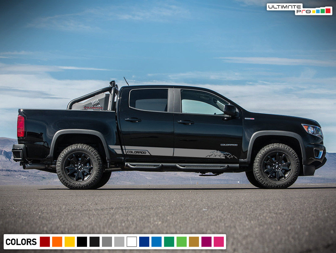 Decals Vinyl Mountain Stripe Kit Compatible With Chevrolet