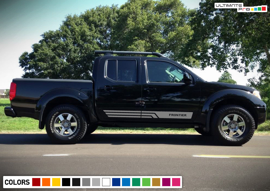 Nissan Frontier Stripes >> Stripes Vinyl Sticker Graphic Decal Compatible With Nissan Frontier